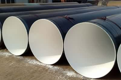 LSAW Internal Anticorrosive Coating Steel Pipe FBE