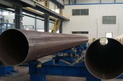 SSAW steel pipe EN 10217 10219 S235