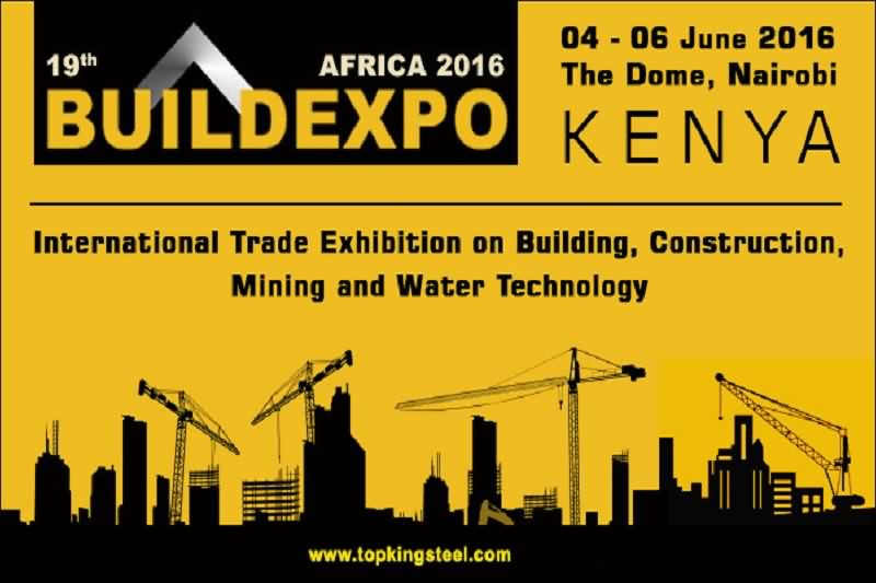 Waiting for You in 19th Buildexpo Africa 2016