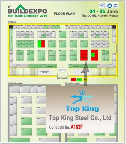 Floor Plan for 19th Buildexpo Kenya